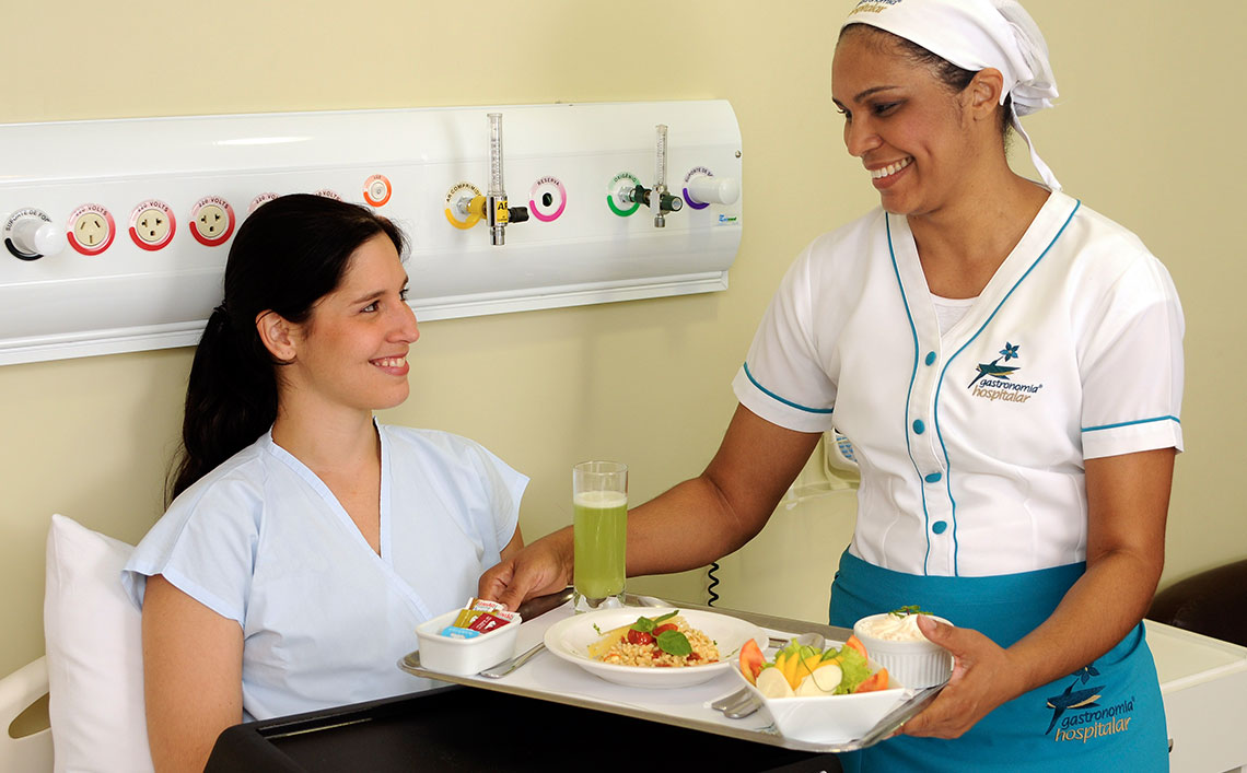 alimentação hospitais